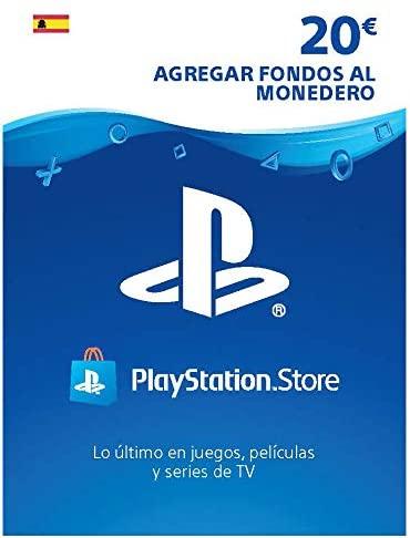 20€ de saldo para PlayStation Network [Incluye gastos gestión]