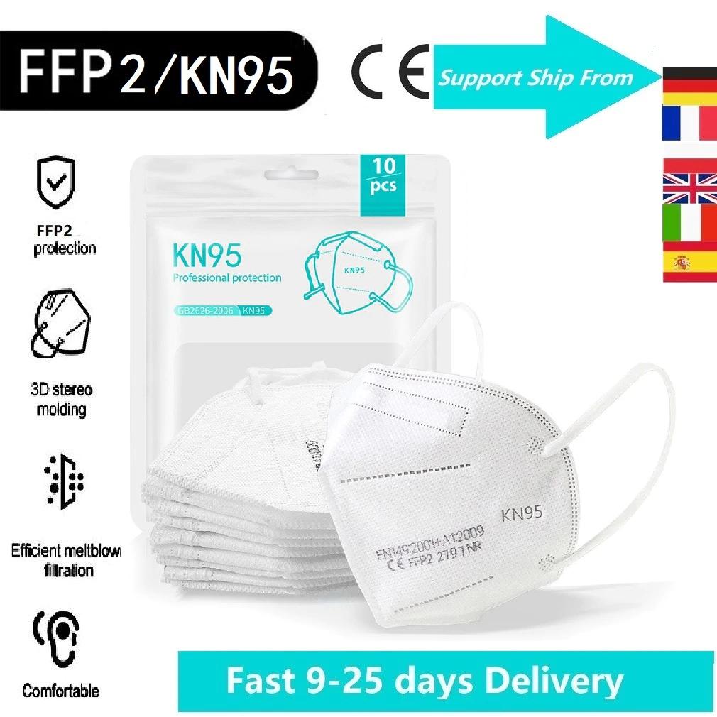 Pack 100 Mascarillas FFP2 CE - Envío desde España