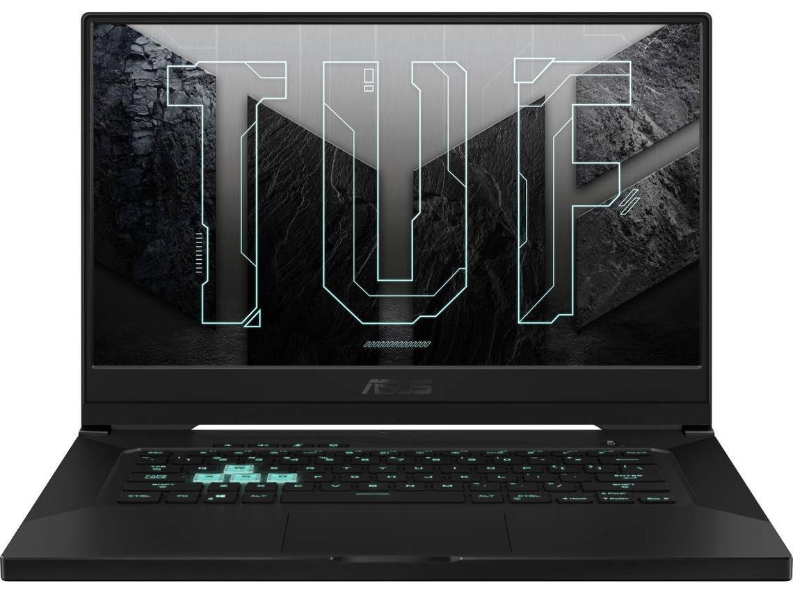 Portátil Gaming ASUS TUF Dash F15 FX516PM-HN023 (Intel Core i7-11370H - NVIDIA GeForce RTX 3060 - RAM: 16 GB - 512 GB SSD PCIe - 15.6'')
