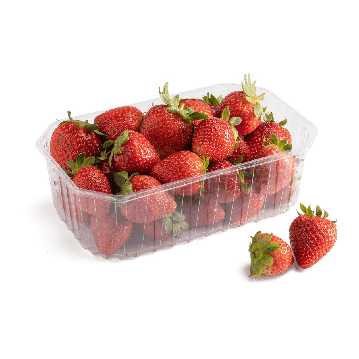 Fresas 500 g 1.29€ desde el sábado en Aldi