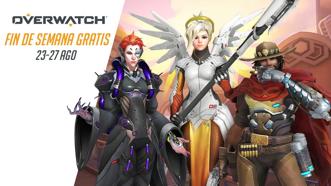 Fin de semana gratis overwatch [Pc, Xbox One, PS4]