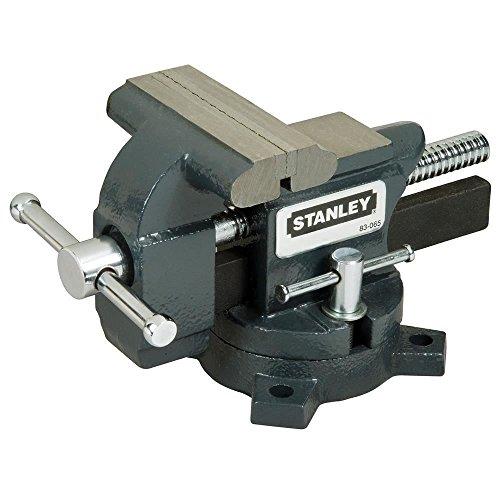 STANLEY 1-83-065 - Tornillo de banco de carga ligera Maxsteel 110mm, 25.9 x 13 x 16.5 cm