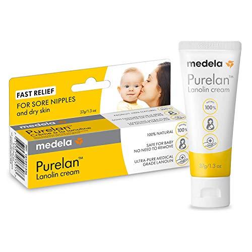 Crema 100% lanolina, natural y segura para la madre y el bebé sin sabor ni fragancia