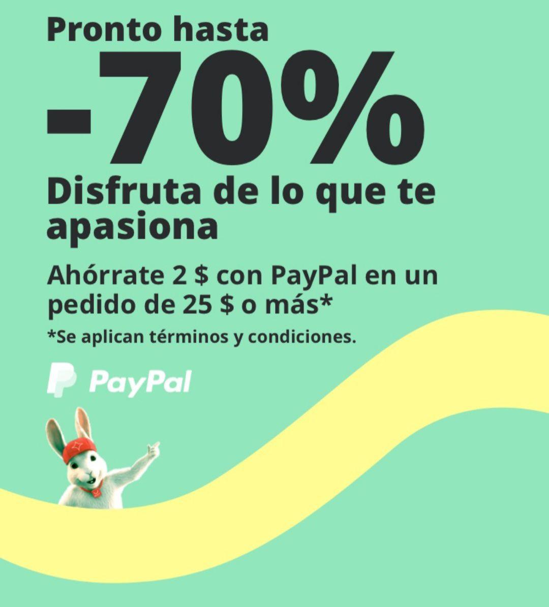 Pagando con PayPal en Aliexpress