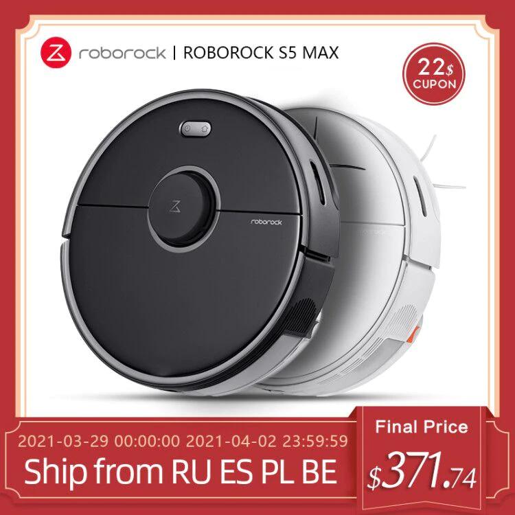 Roborock S5 Max desde Europa