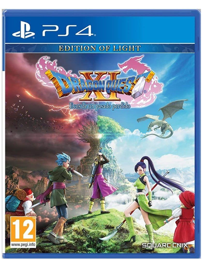 Dragon Quest XI Ecos de un Pasado Perdido Edition of Light (PS4)
