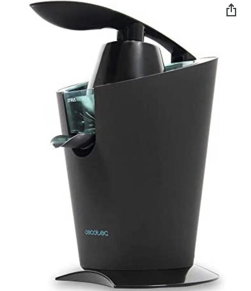 Cecotec Exprimidor Eléctrico de Brazo Zitrus 160 Vita Black. 160 W ( precio mínimo)