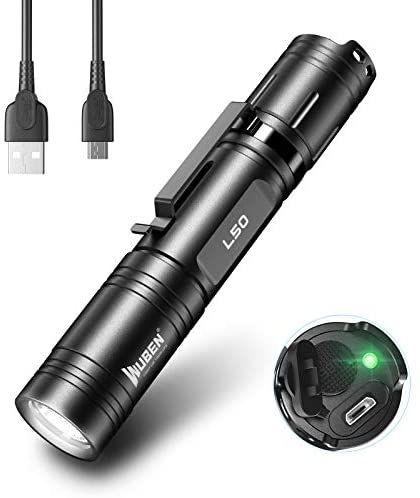 WUBEN L50 Linterna Led 1200 Lumens USB Recargable Alta Potencia