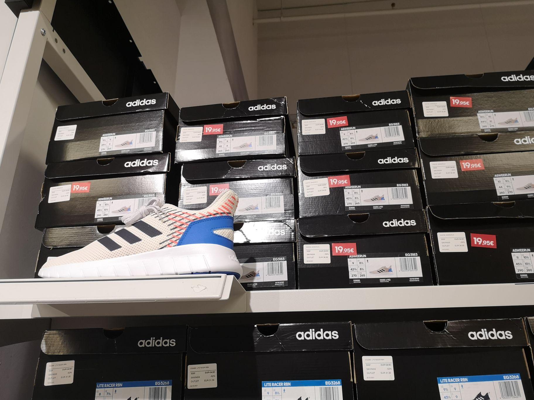 Zapatillas Adidas por menos de 20 euros