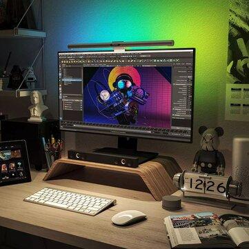 Barra de luz LED RGB para monitor, regulable con APP