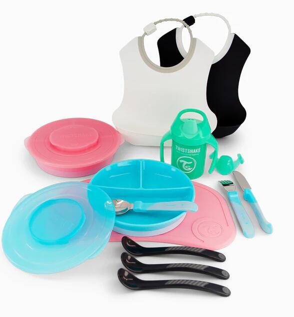 Set utensilios para la comida bebés de Twistshake