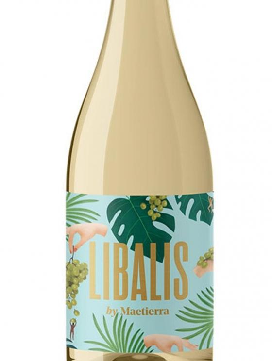 Vino blanco libalis I.G.P a 1€ -madrid,Gandía