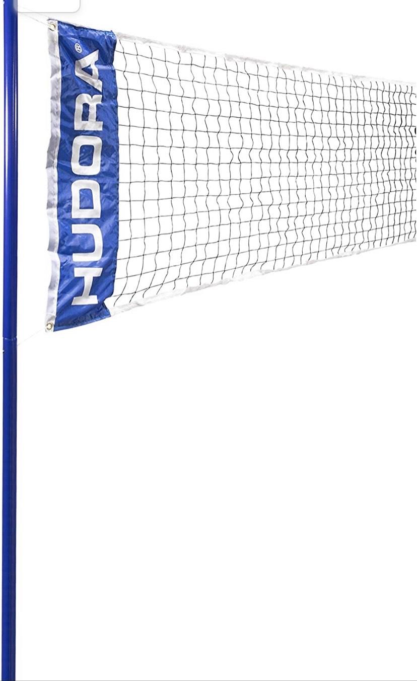 Red de voleibol / Badminton más postes