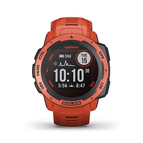 Garmin Instinct Solar, Reloj GPS resistente con carga solar (OFERTA FLASH)
