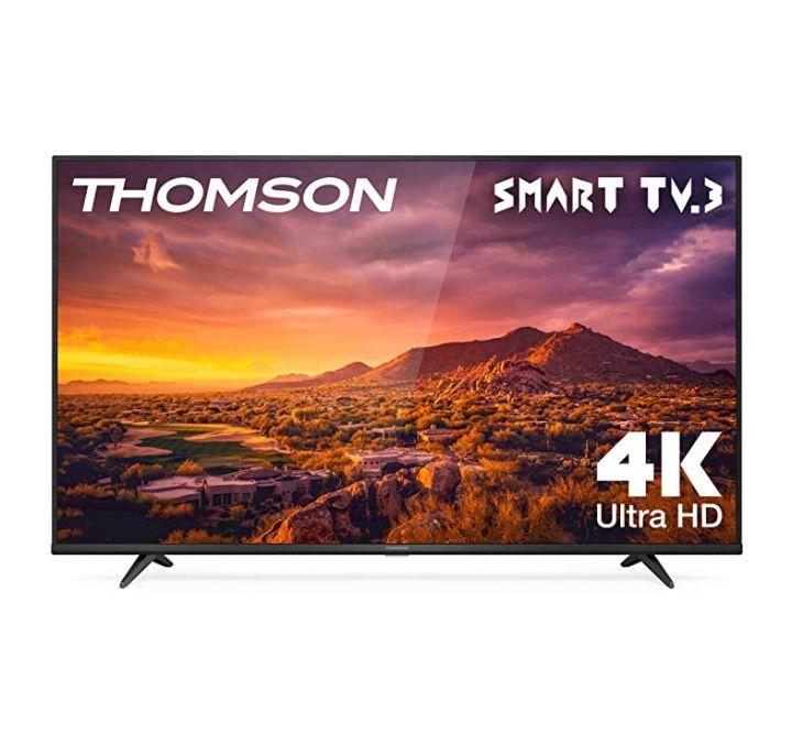 THOMSON 65UG6300 - Televisor LED de 65 pulgadas, Smart TV con 4K UHD, Dolby Audio, Compatible con Alexa | Home Entertainment