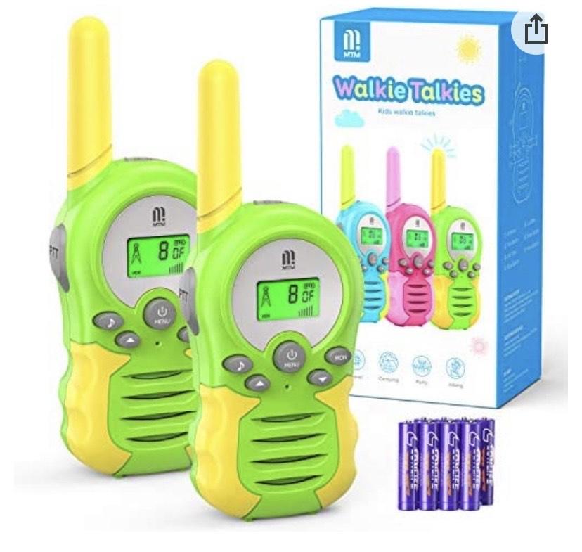 Walkie Talkie PMR446 8 Canales Función VOX Rango de 3KM