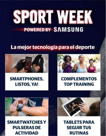 Sport week Samsung en the phone house