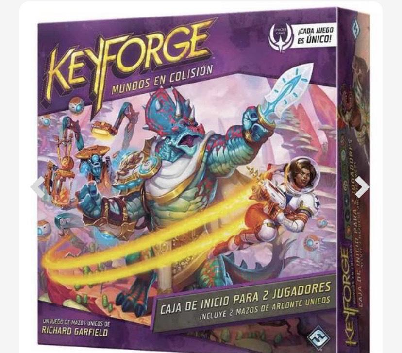 KeyForge - Mundos en Colisión Caja de Inicio Para 2 - Juego de Cartas (Ahora también en Amazon)