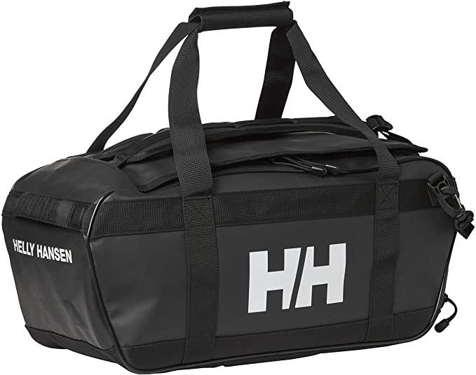 Bolsa Helly Hansen 30 litros Negra, con asas de mochila, HH