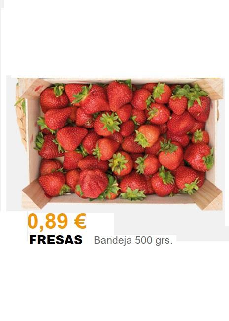 Fresas, 500 g - Supermercados Gadis