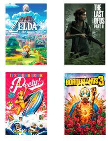 2x1 en pósters de juegos desde Game