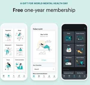Suscripción 1 año a Balance Meditation & Sleep [Android, IOS]