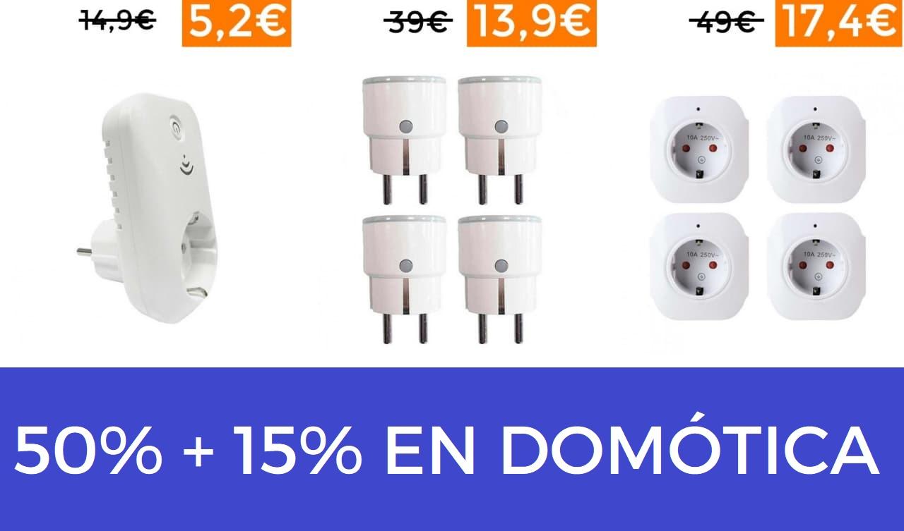 50%+15% Extra en domótica Orion91