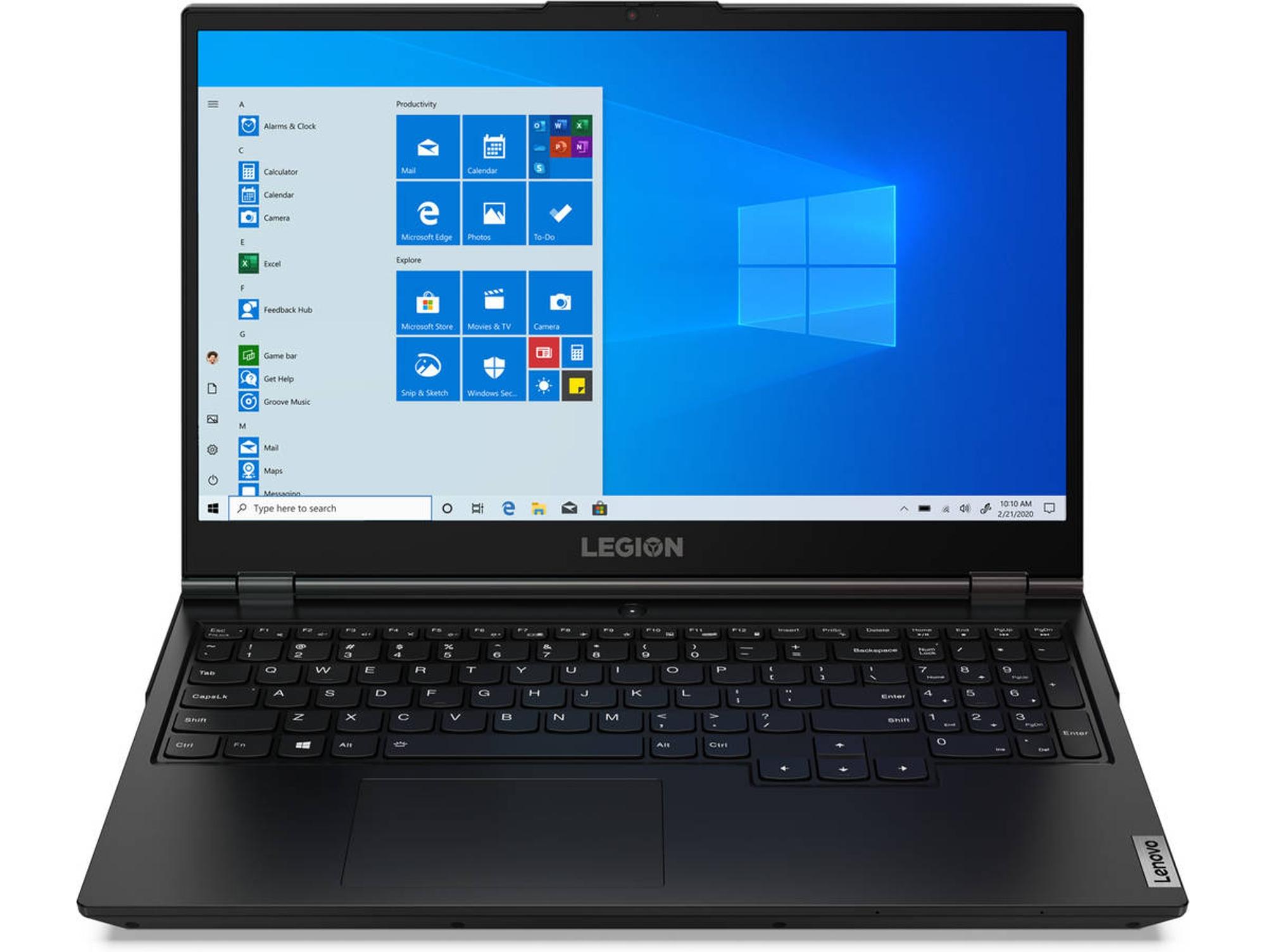 Portátil Gaming LENOVO Legion 5 15IMH05 (Intel Core i7-10750H - NVIDIA GeForce GTX 1650