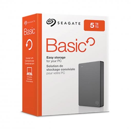 Disco Duro Externo HDD Segate Basic 5TB