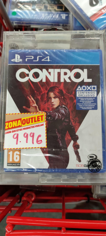 PS4 Juego Control a 9,99 en Mediamarkt de Collado Villalba (Madrid)