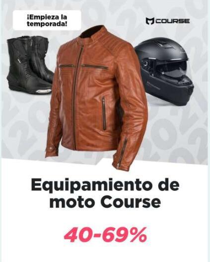 Descuentos del 40 al 69% en productos de la marca Course en XLMOTO