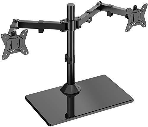 Soporte doble monitor con base