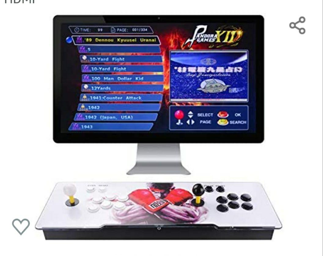 TAPDRA Pandora 12 Joystick y botones multijugador