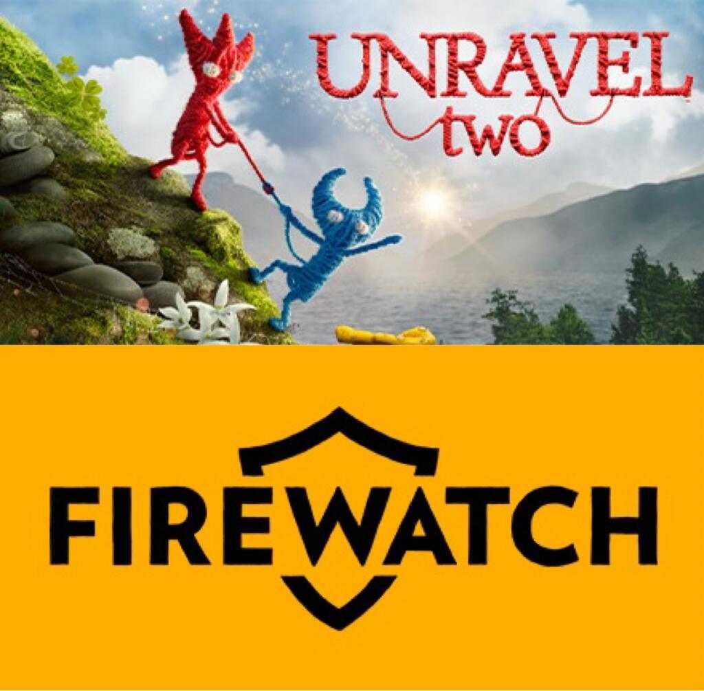 Unravel Two por 4,99€ y Firewatch por 4,99€ (Steam)