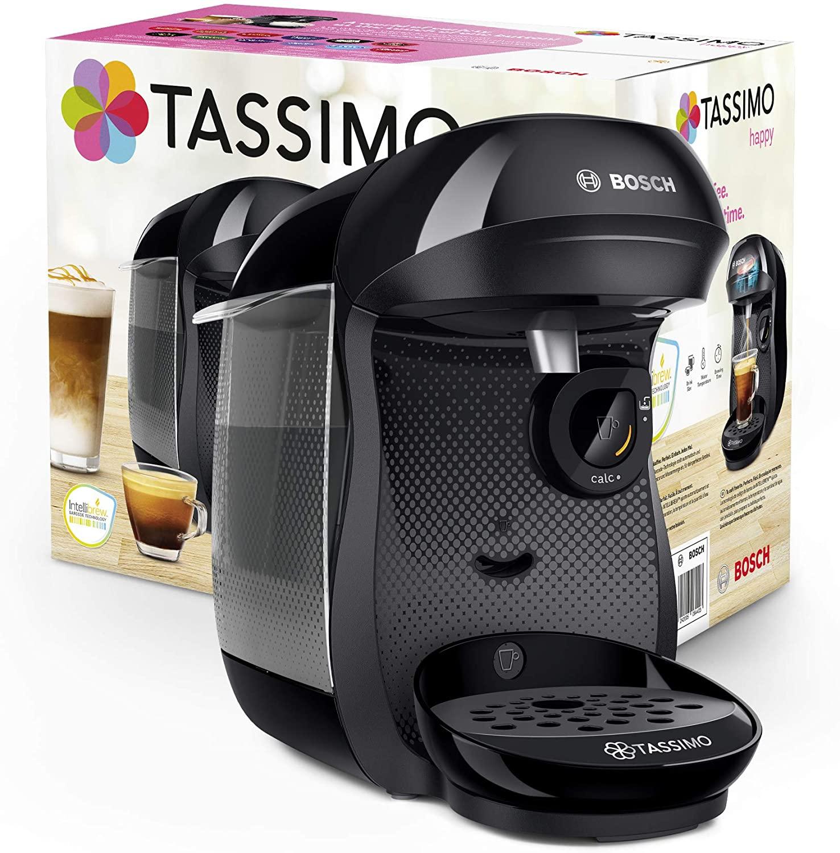 Bosch Tassimo Happy TAS1002X + 24 cápsulas gratis + 20€ gratis de café registrandola en la web de TASSIMO