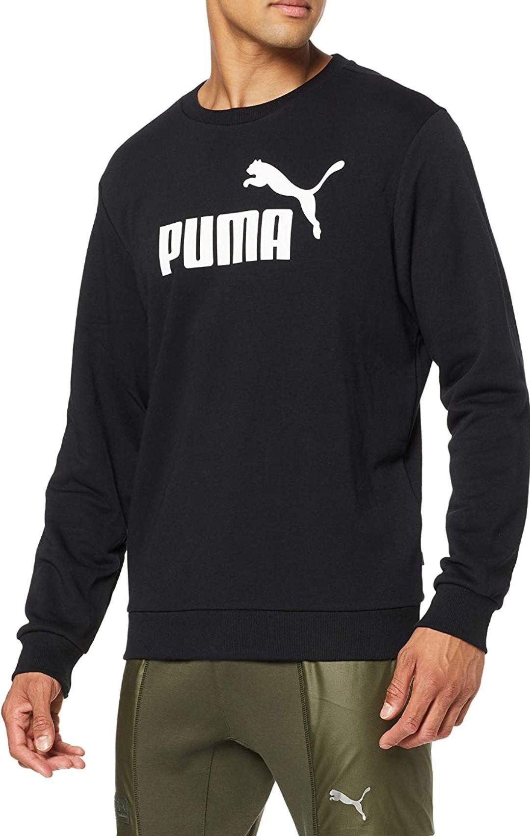 Sudadera hombre Puma tallas M (también en gris) y L.