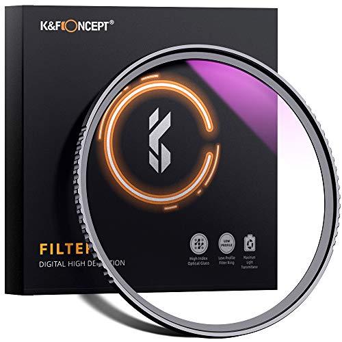 Filstros UV K&F Concept en oferta y con descuento adicional del 50% para algunos filtros