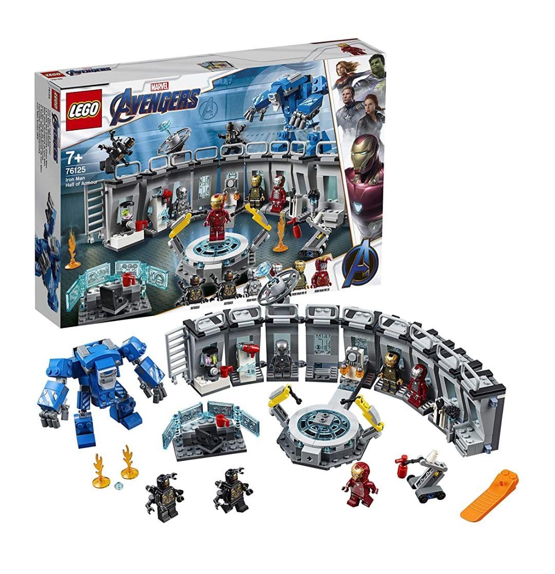 LEGO Iron Man: Sala de Armaduras (76125)