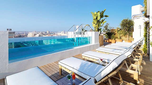 Hotel Con Infinity Pool En Madrid