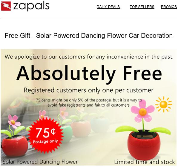 Flor que baila - Juguete - Solar
