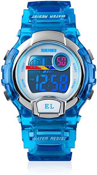 Reloj digital multifunción para niños
