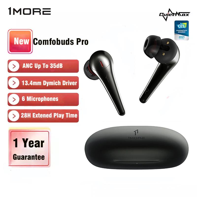 1MORE ComfoBuds Pro con 4 modos de cancelación de ruido y 8h de batería