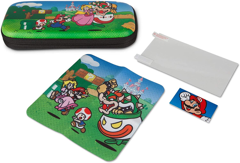 Kit estuche Mario Nintendo Switch Lite solo 5.5€