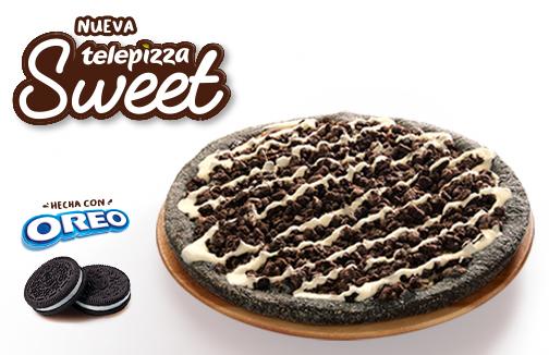 ¡Prueba la nueva Telepizza Sweet con Oreo por sólo 3,5€!