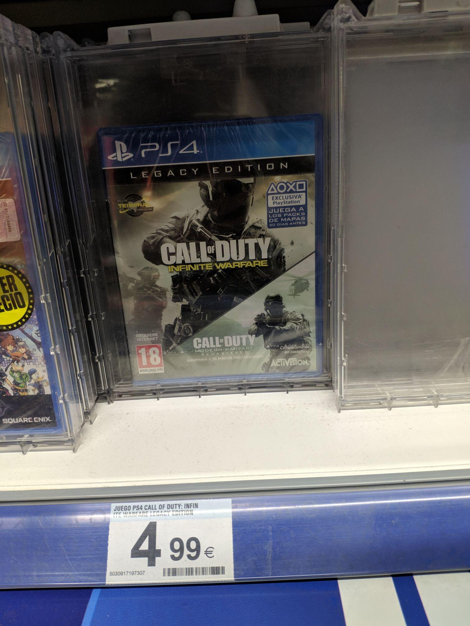 Call of Duty Infinity Warfare + Modern Warfare en el Carrefour de Palmones (Cádiz)