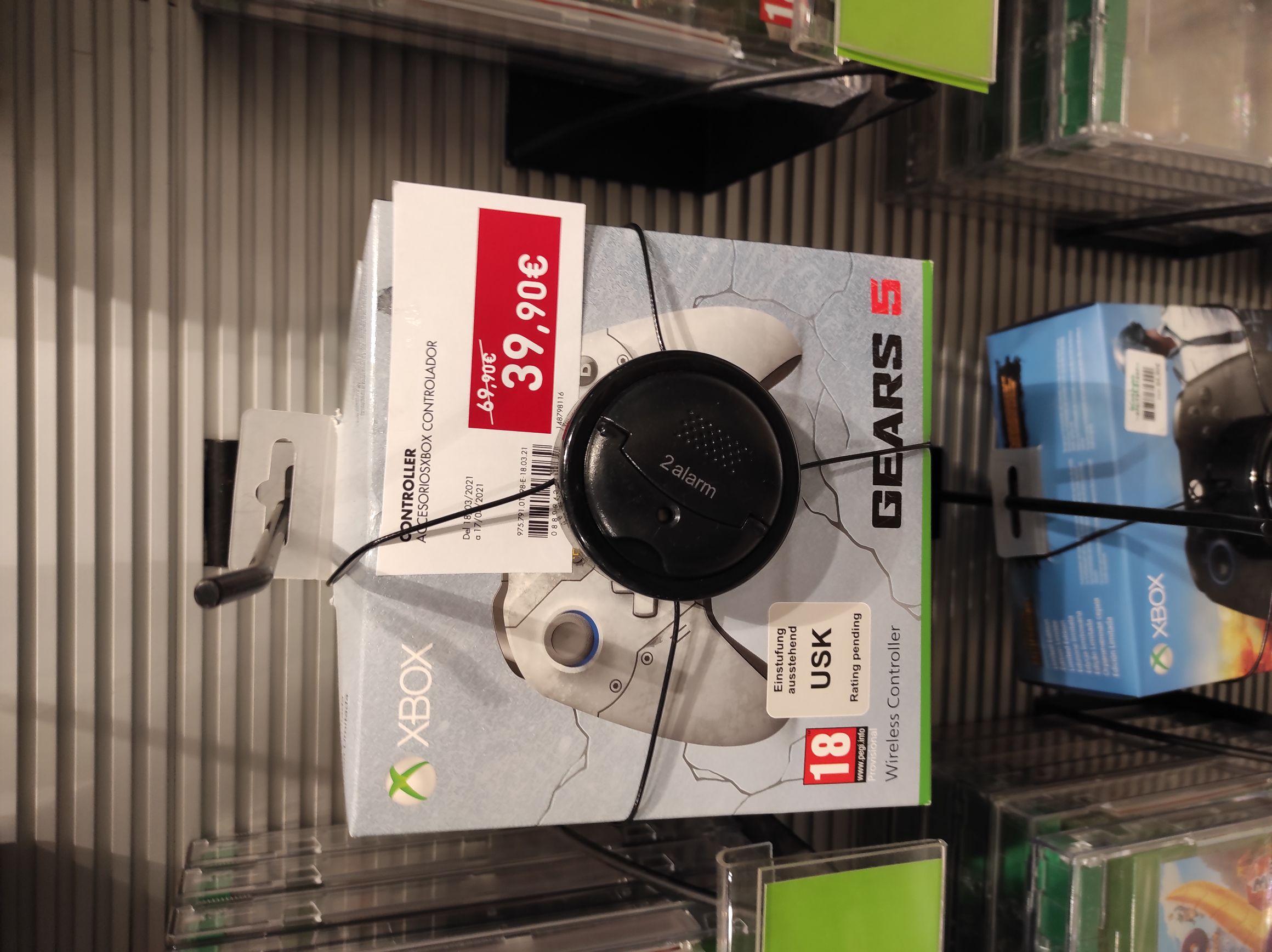 Mando especial gear of war 5 Xbox one en el corte inglés de Tarragona.