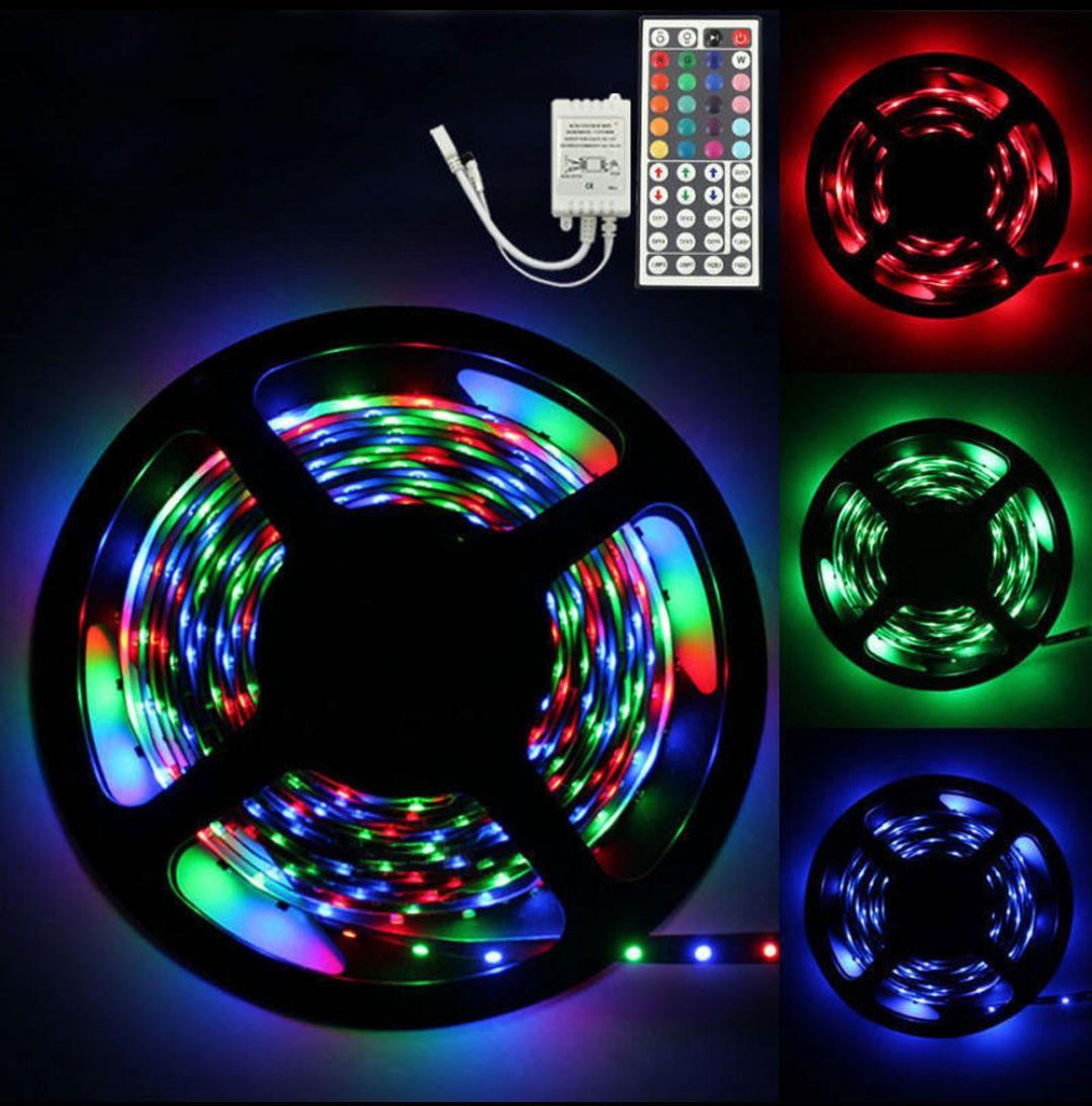 Tira LED RGB con Controlador de 44 botones