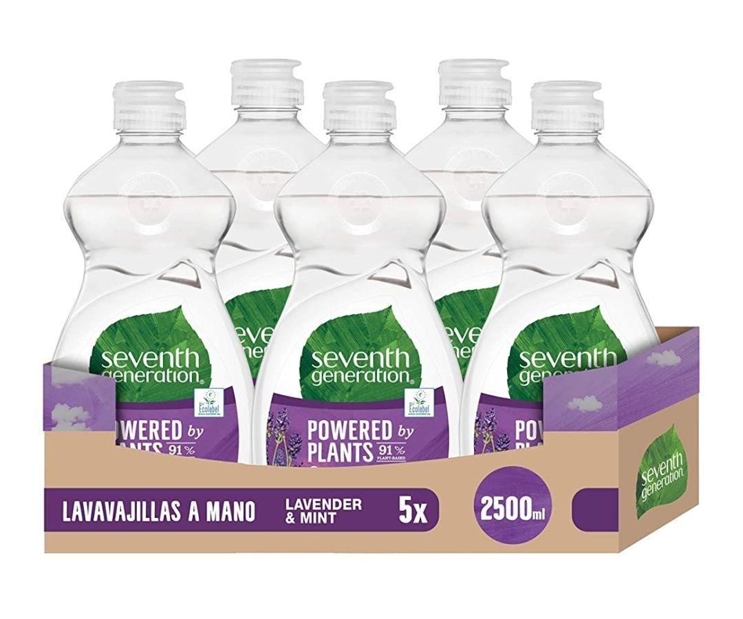 Pack 5 Lavavajillas a mano 100% ecológico y sostenible