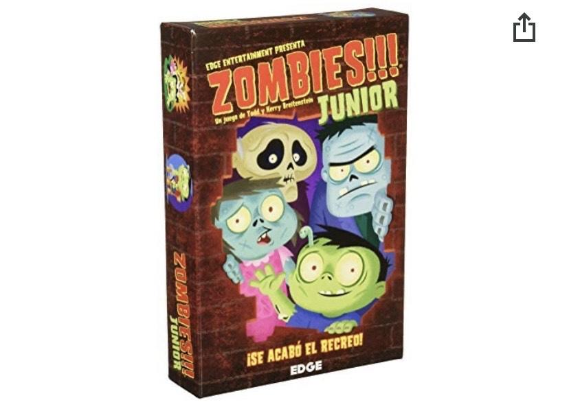 Zombies Junior juego de mesa