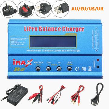 iMAX B6 Cargador de equilibrio de baterías Lipo 80W 6A